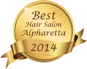 alpharetta hair salon award 2014